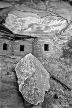 BLM,Cedar Mesa,Fine Art B&W Landscape,Fine Art Landscape,Four Corners,Grand Gulch area,anasazi,ancestral puebloan,rock art,ruins,Fine Art B&W Landscape