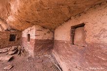 Cedar Mesa,Cedar Mesa Anasazi ruin,Cedar Mesa ruins,Fish Creek,Red and White Wall Ruin