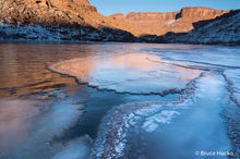 Canyonlands NP,Canyonlands National Park,Colorado River Ice,ice
