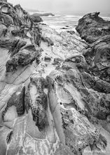 Coast,Salt Point State Park,Sandstone abstracts,northern CA,sandstone and ocean