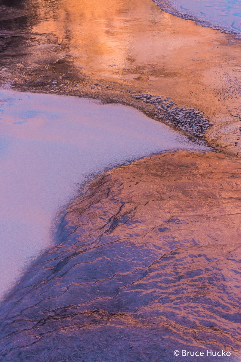 Moab area,Moab area colorado platea,desert ice,ice, photo
