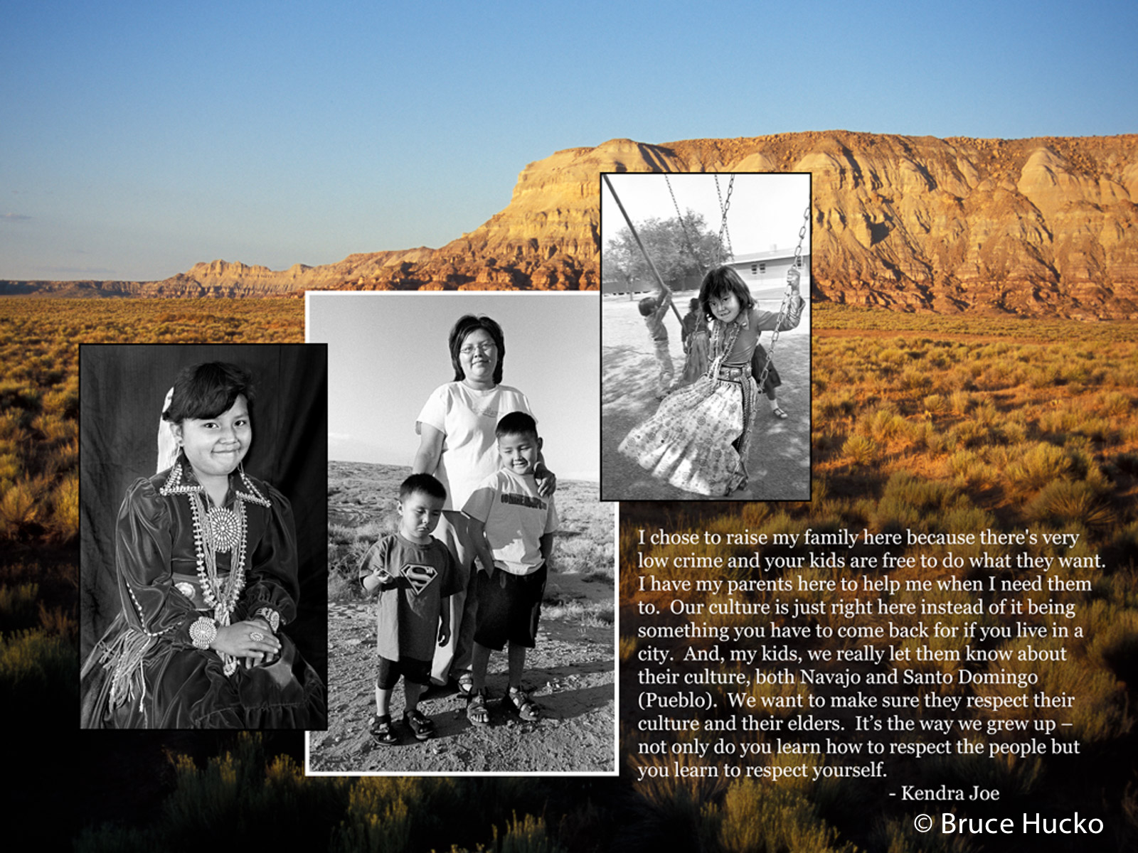 Gesture of Kinship,Navajo, photo