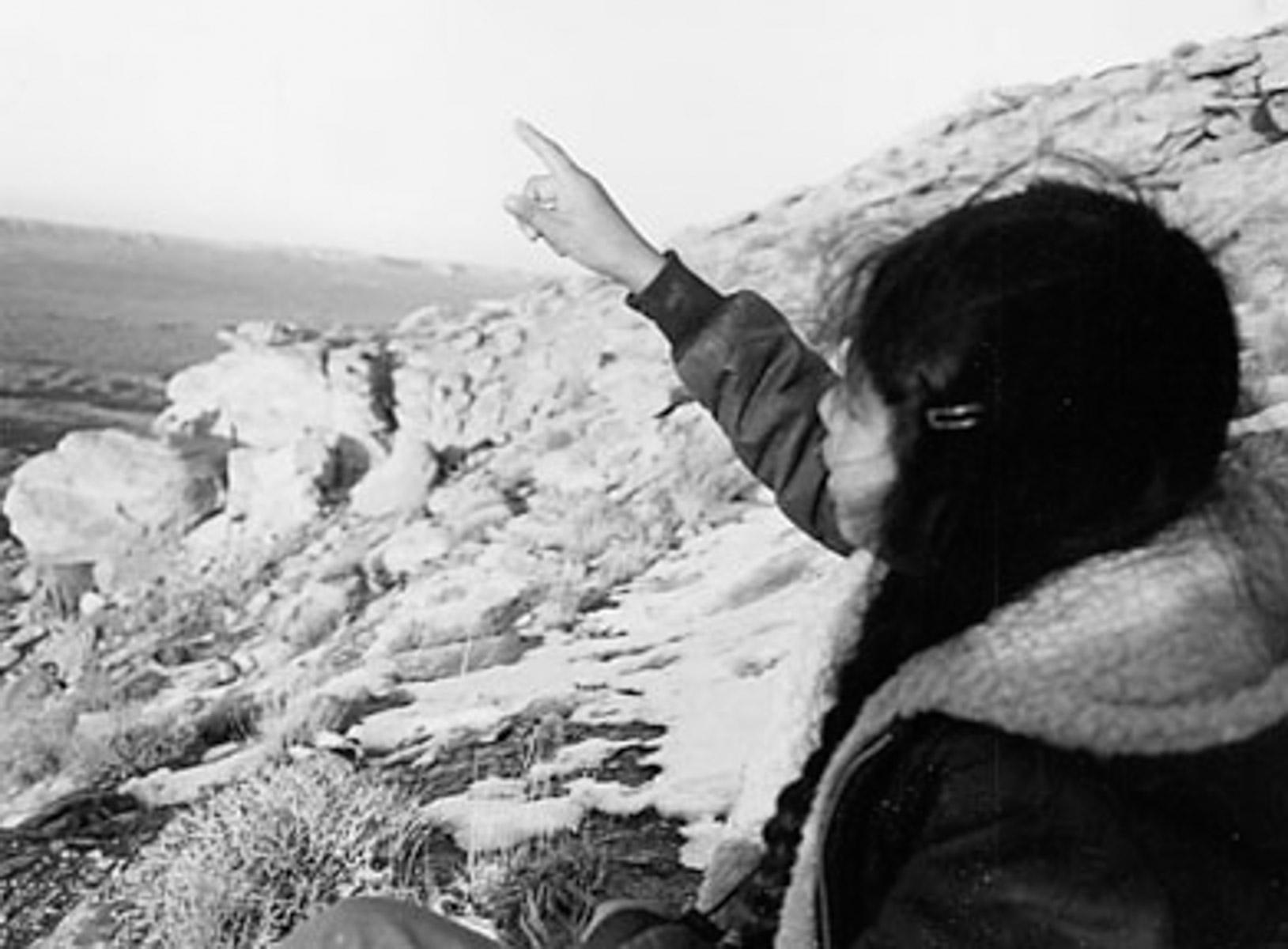 Gesture Singles, Gesture of Kinship, Montezuma Creek, Navajo, photo