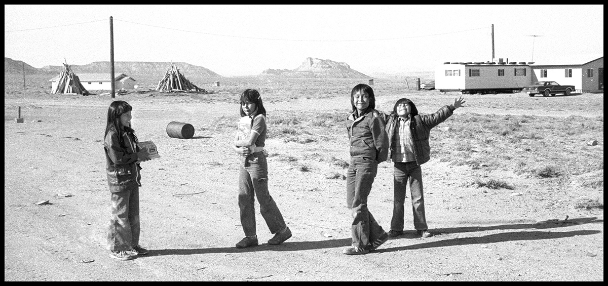 Gesture Singles, Gesture of Kinship, Montezuma Creek, Navajo, photo