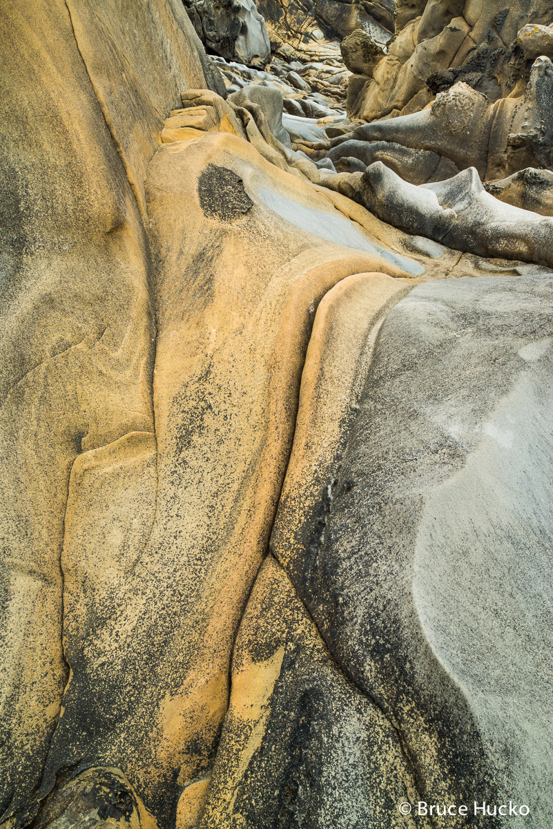 Coast,Salt Point State Park,Sandstone abstracts,northern CA,sandstone and ocean, photo
